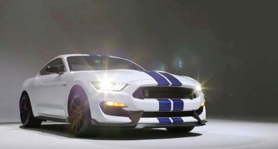 2016 SHELBY GT350 Mustang White 107