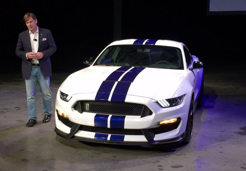2016 SHELBY GT350 Mustang White 131