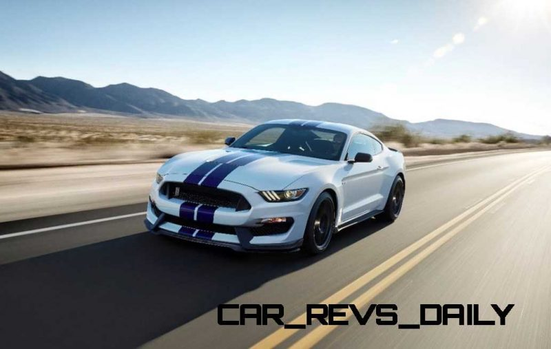 2016 SHELBY GT350 Mustang White 132