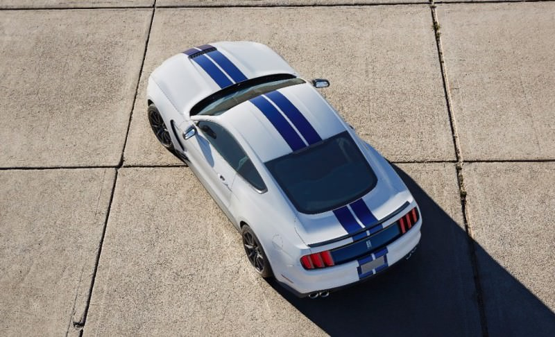 2016 SHELBY GT350 Mustang White 135