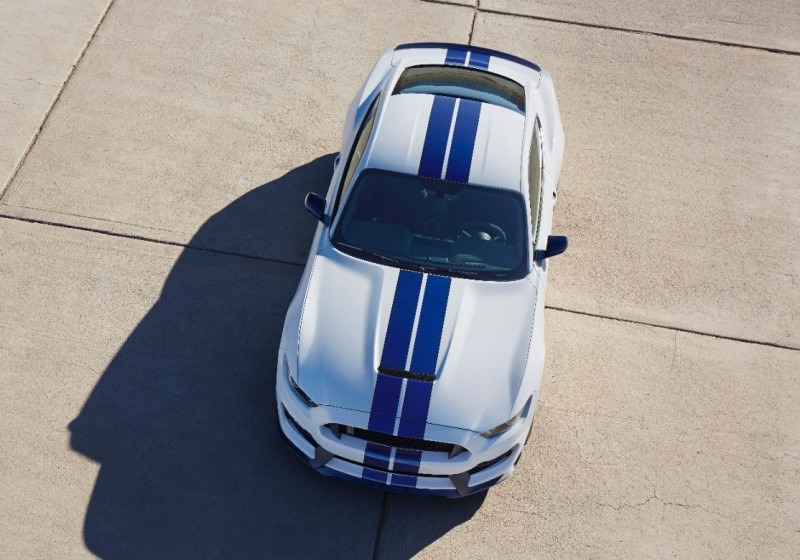 2016 SHELBY GT350 Mustang White 136