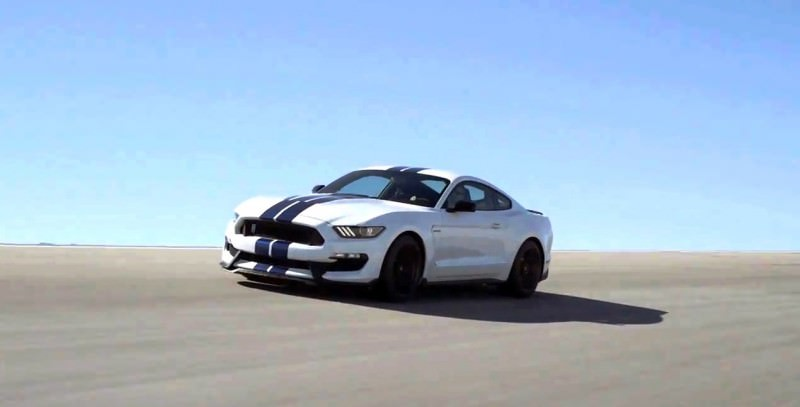 2016 SHELBY GT350 Mustang White 14