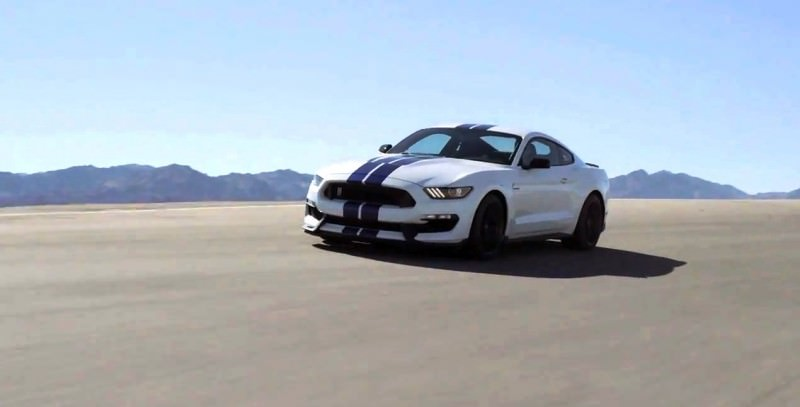 2016 SHELBY GT350 Mustang White 15