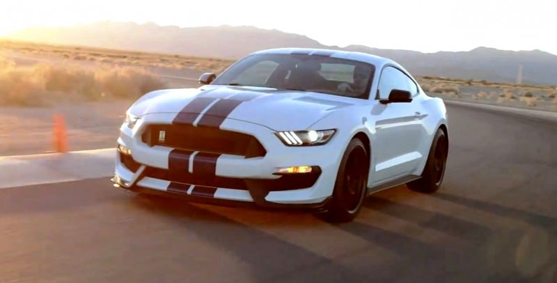 2016 SHELBY GT350 Mustang White 17
