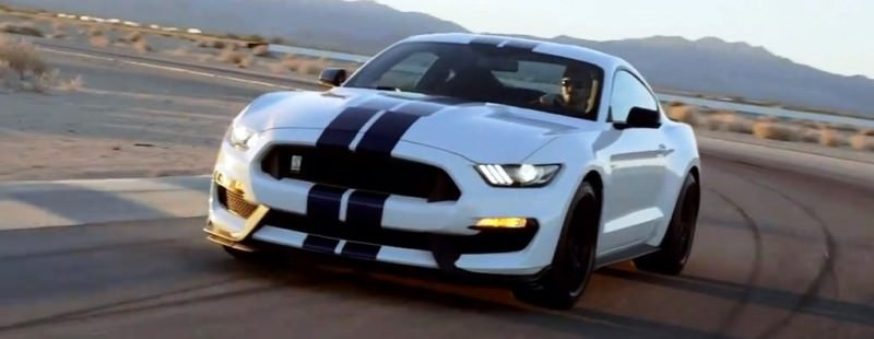 2016 SHELBY GT350 Mustang White 18