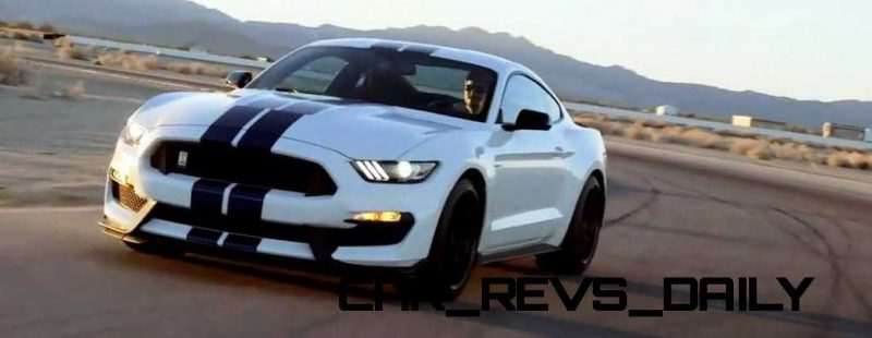 2016 SHELBY GT350 Mustang White 19