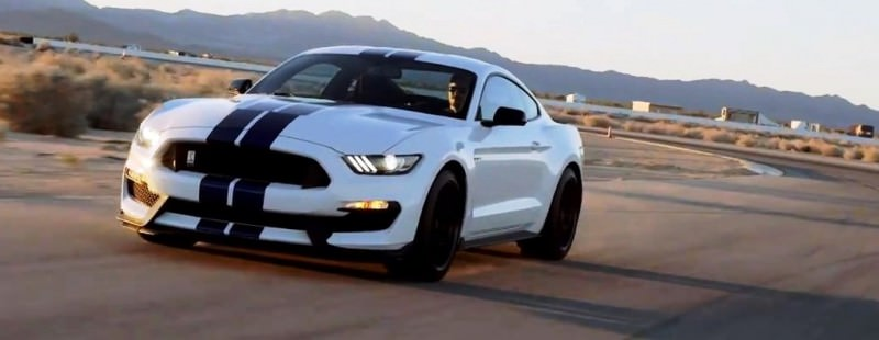 2016 SHELBY GT350 Mustang White 22