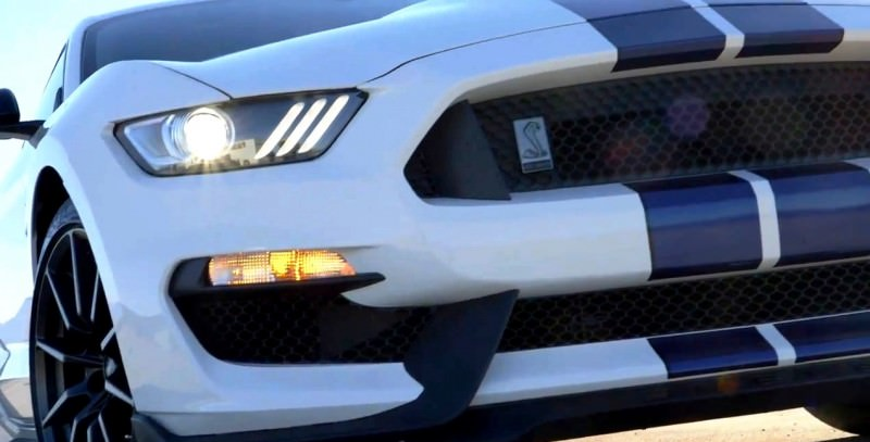 2016 SHELBY GT350 Mustang White 25