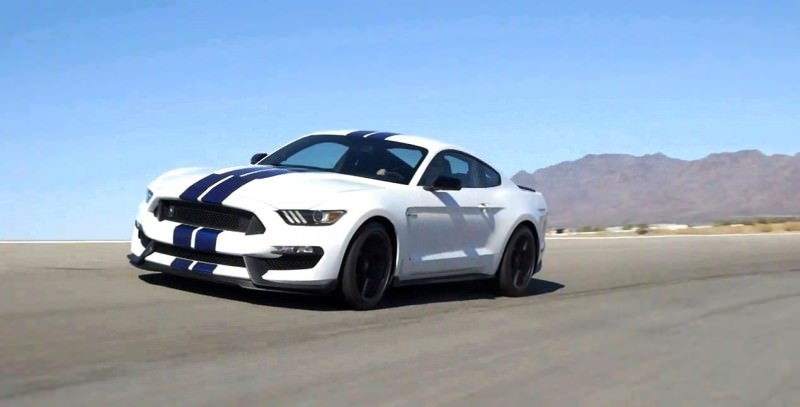 2016 SHELBY GT350 Mustang White 4