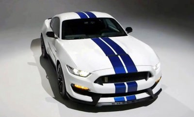 2016 SHELBY GT350 Mustang White 45