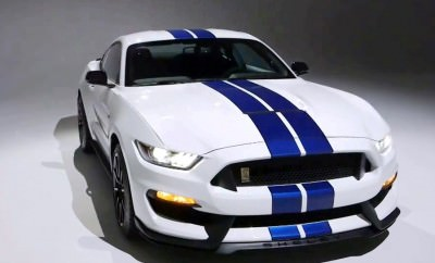 2016 SHELBY GT350 Mustang White 48