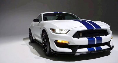 2016 SHELBY GT350 Mustang White 52