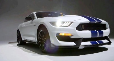 2016 SHELBY GT350 Mustang White 55