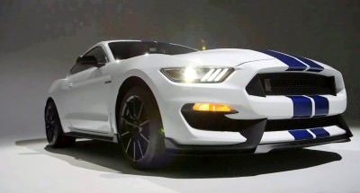 2016 SHELBY GT350 Mustang White 56