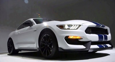 2016 SHELBY GT350 Mustang White 58