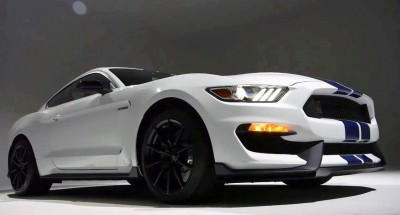 2016 SHELBY GT350 Mustang White 60