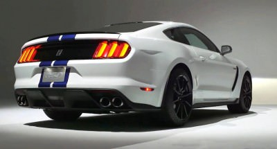 2016 SHELBY GT350 Mustang White 69