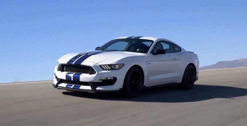 2016 SHELBY GT350 Mustang White 7