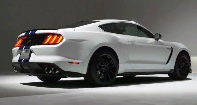 2016 SHELBY GT350 Mustang White 73