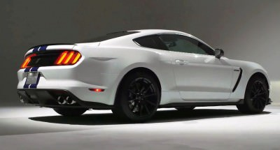 2016 SHELBY GT350 Mustang White 74