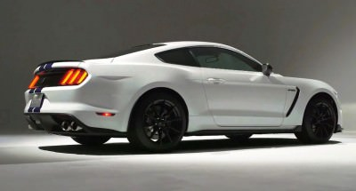 2016 SHELBY GT350 Mustang White 75