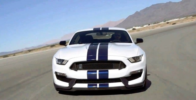 2016 SHELBY GT350 Mustang White 8