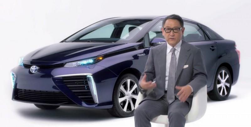 2016 Toyota Mirai 15