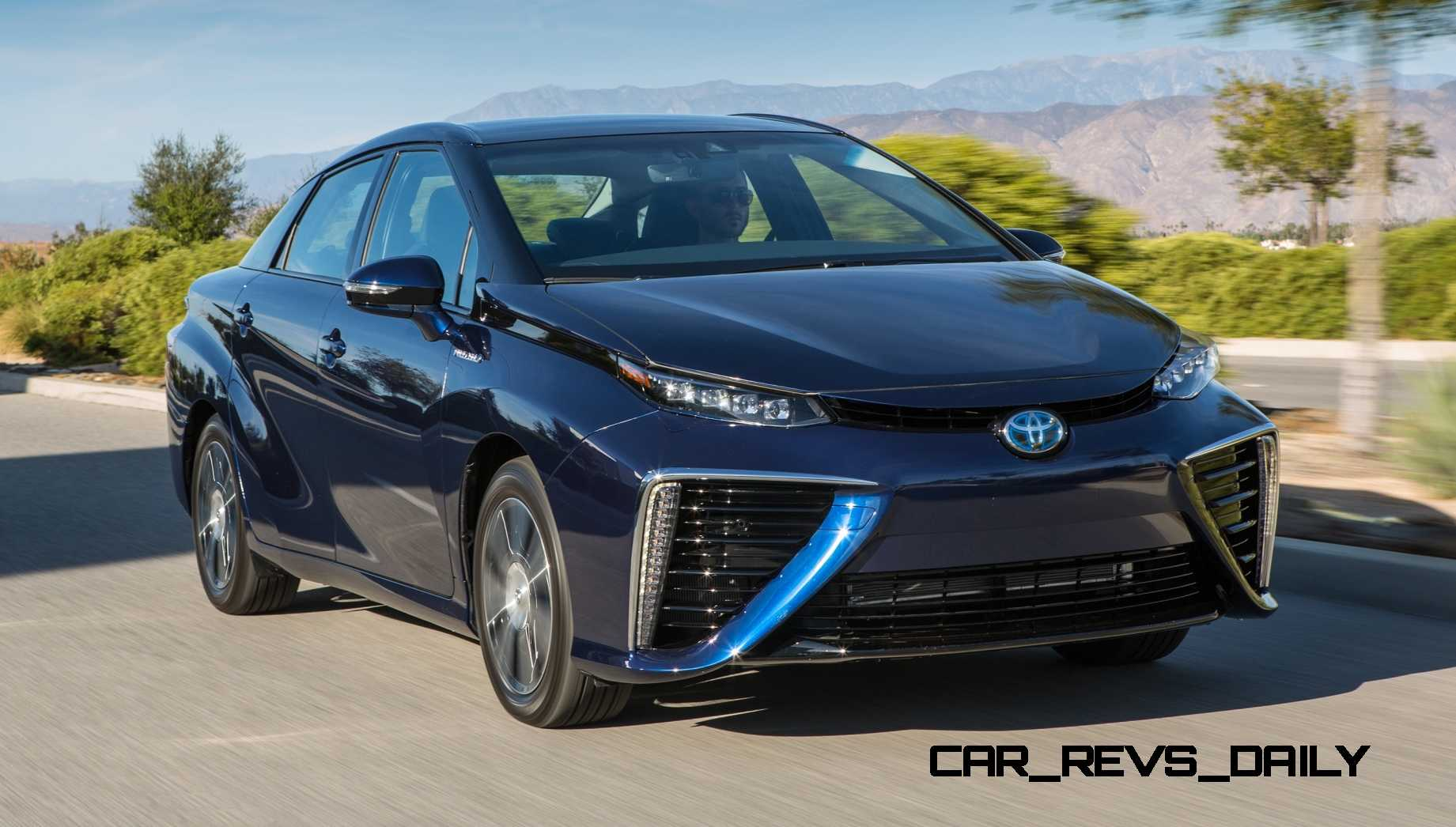 Toyota Mirai Explained | 2017/2018 Toyota Reviews Page