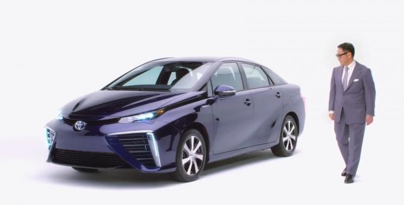 2016 Toyota Mirai 35