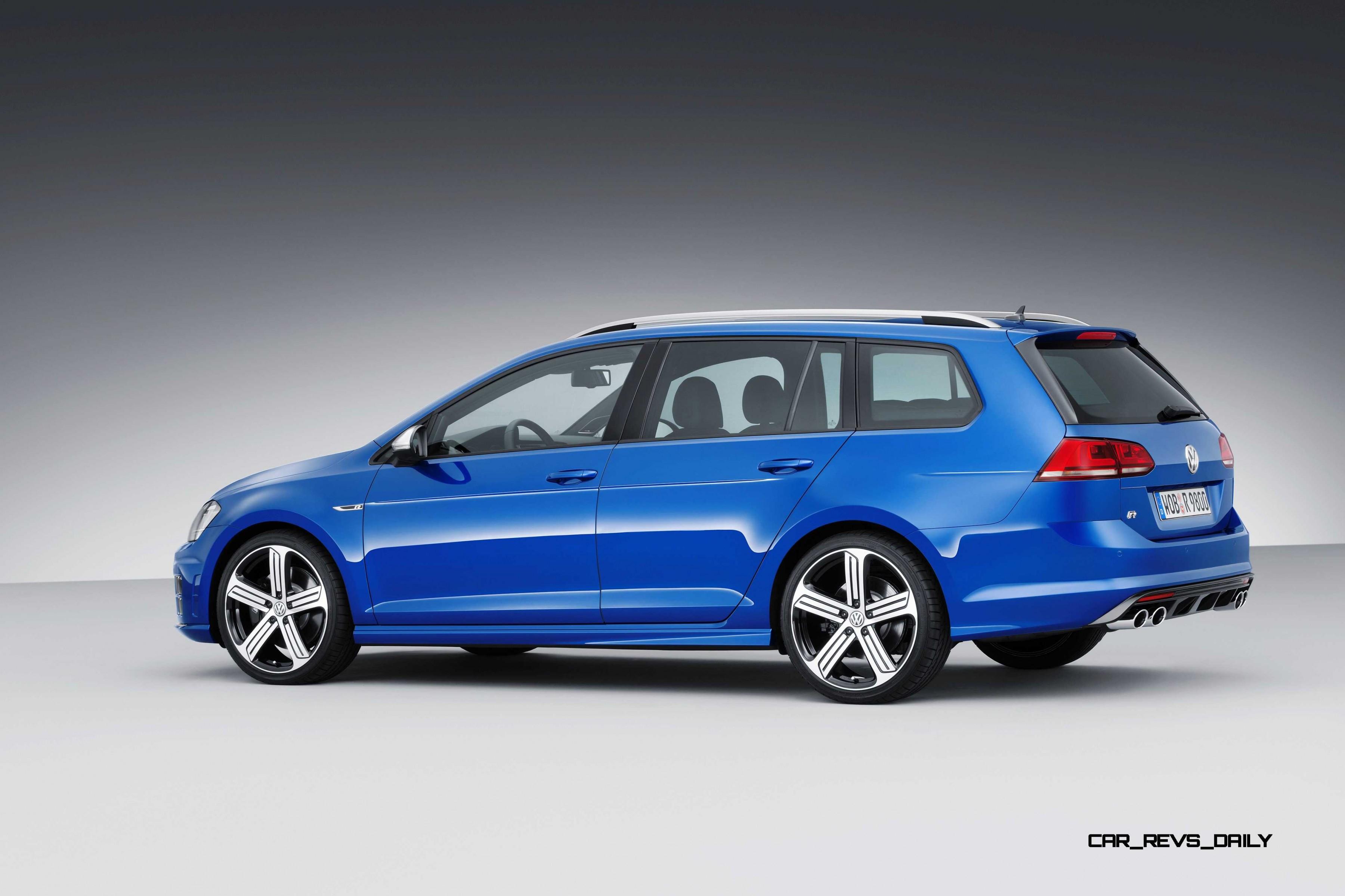 2016 Volkswagen Golf R Sportwagen LA Debut - Huge Tease or USA Fast-Wagon Heaven?