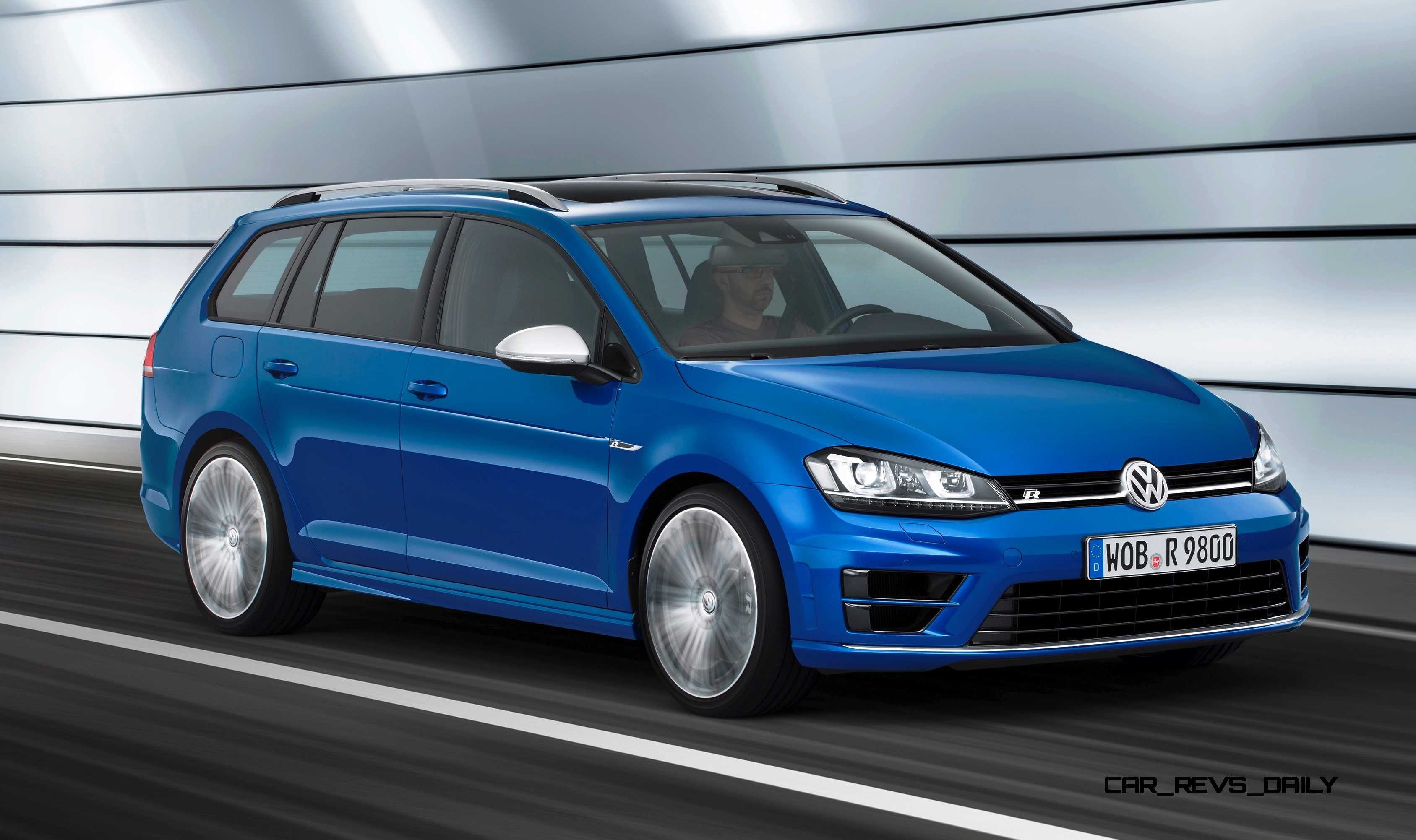 2016 volkswagen golf r sportwagen la debut huge tease or usa fast wagon heaven. Black Bedroom Furniture Sets. Home Design Ideas