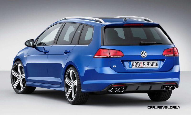 2016 Volkswagen Golf R Sportwagen 8