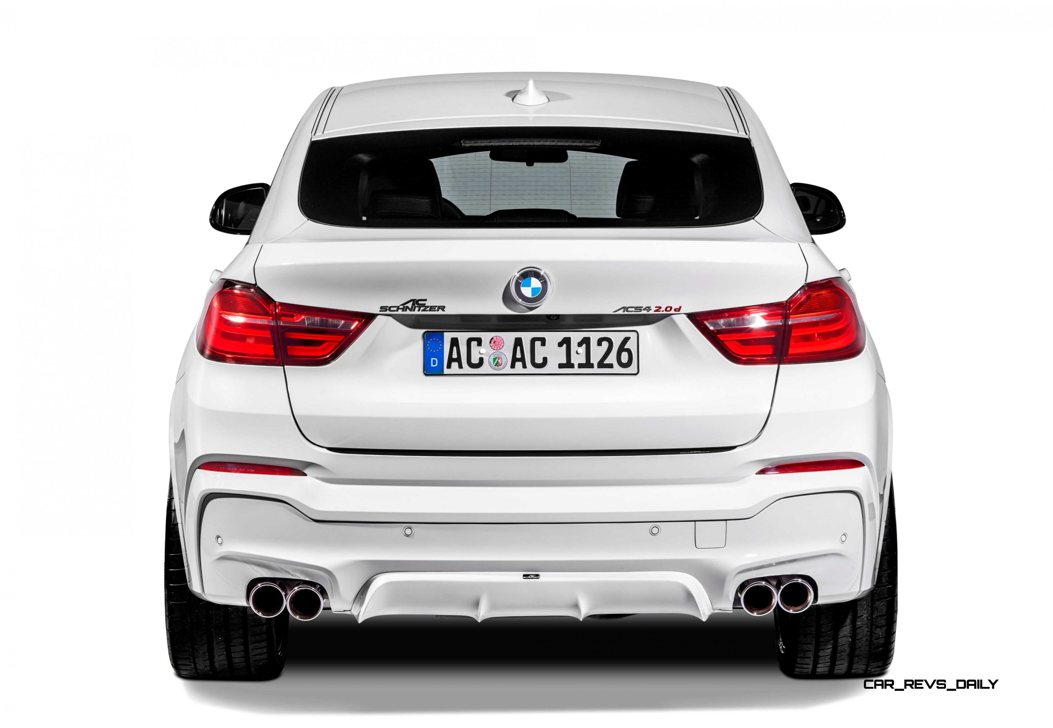 AC Schnitzer BMW X4 Revealed Today In Zurich With Exterior and