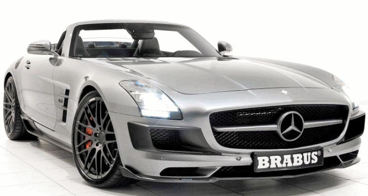 BRABUS AMG SLS Roadster gif