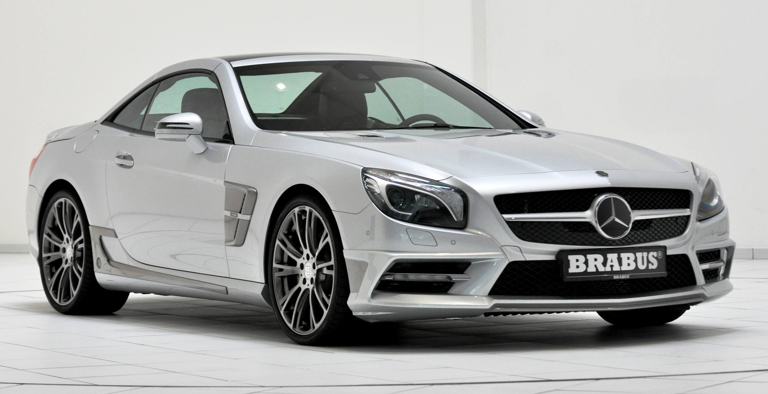 Brabus mercedes benz sl550 for Mercedes benz sl coupe