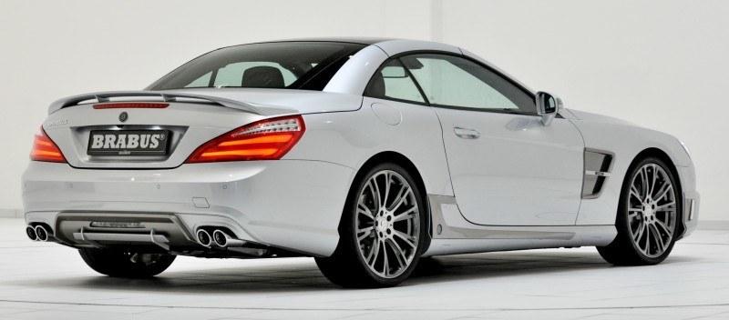BRABUS Mercedes-Benz SL550 R231 40