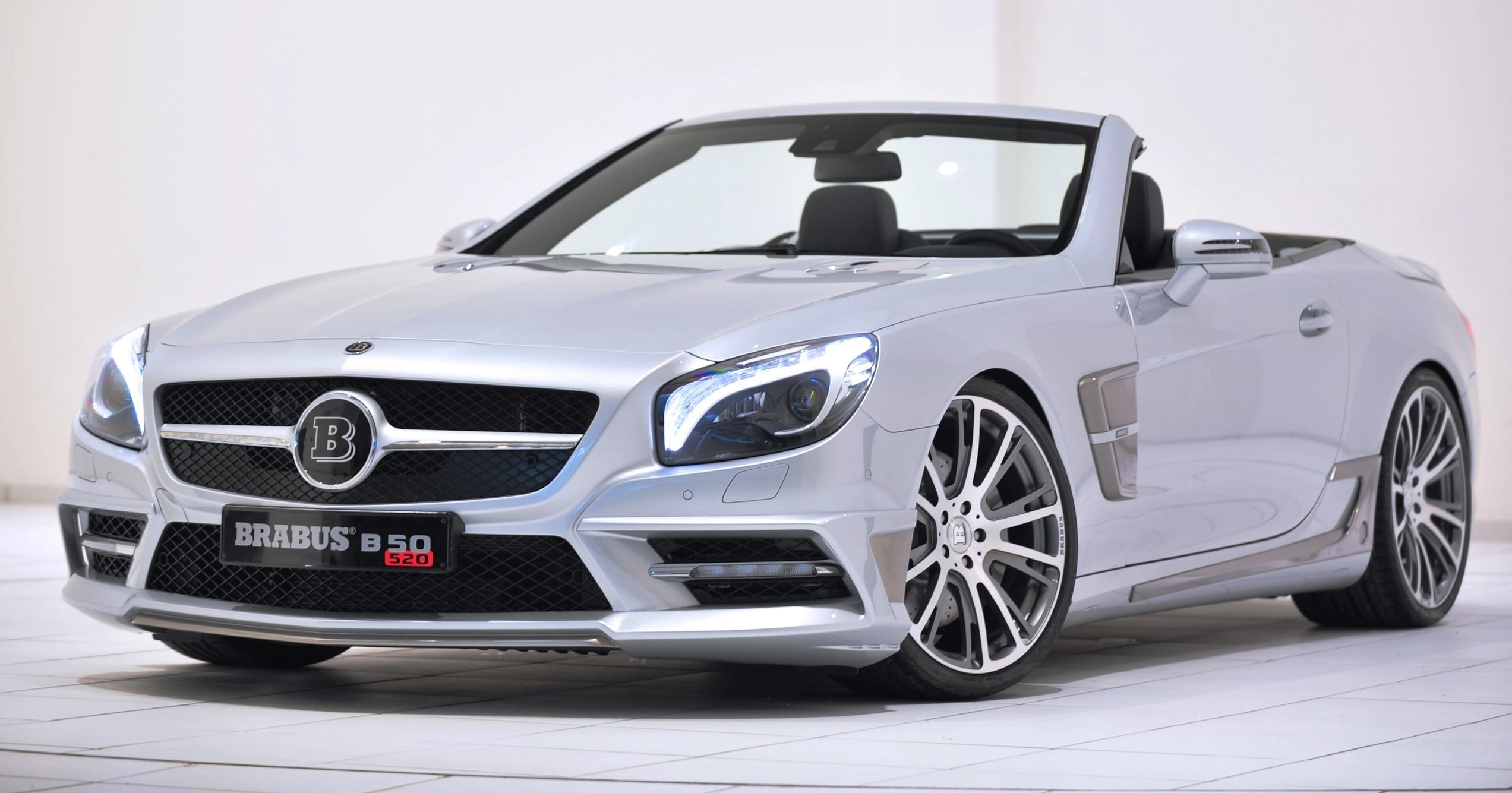 Brabus mercedes benz sl550 for Mercedes benz sl550