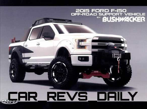 Bushwacker Off-Road Support F-150