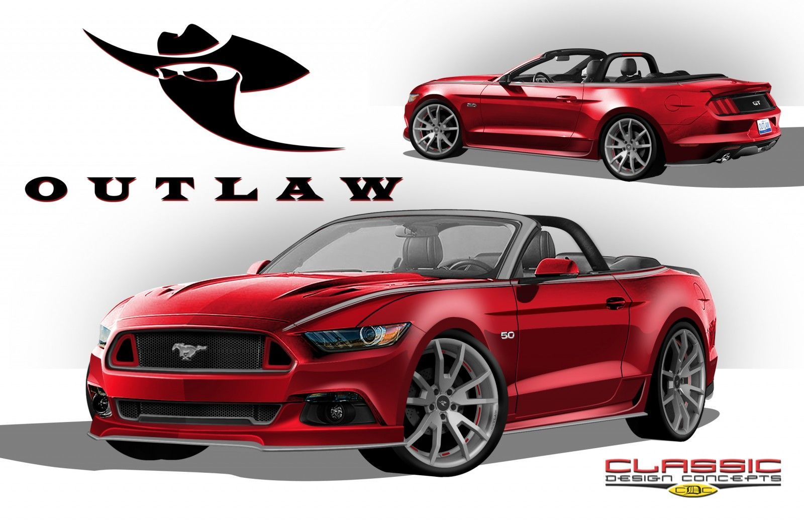 Classic Design Concepts Outlaw Mustang