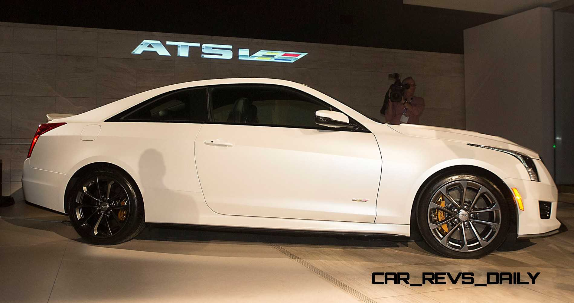 455HP 2016 Cadillac ATS V Coupe And Sedan Are Twin Turbo