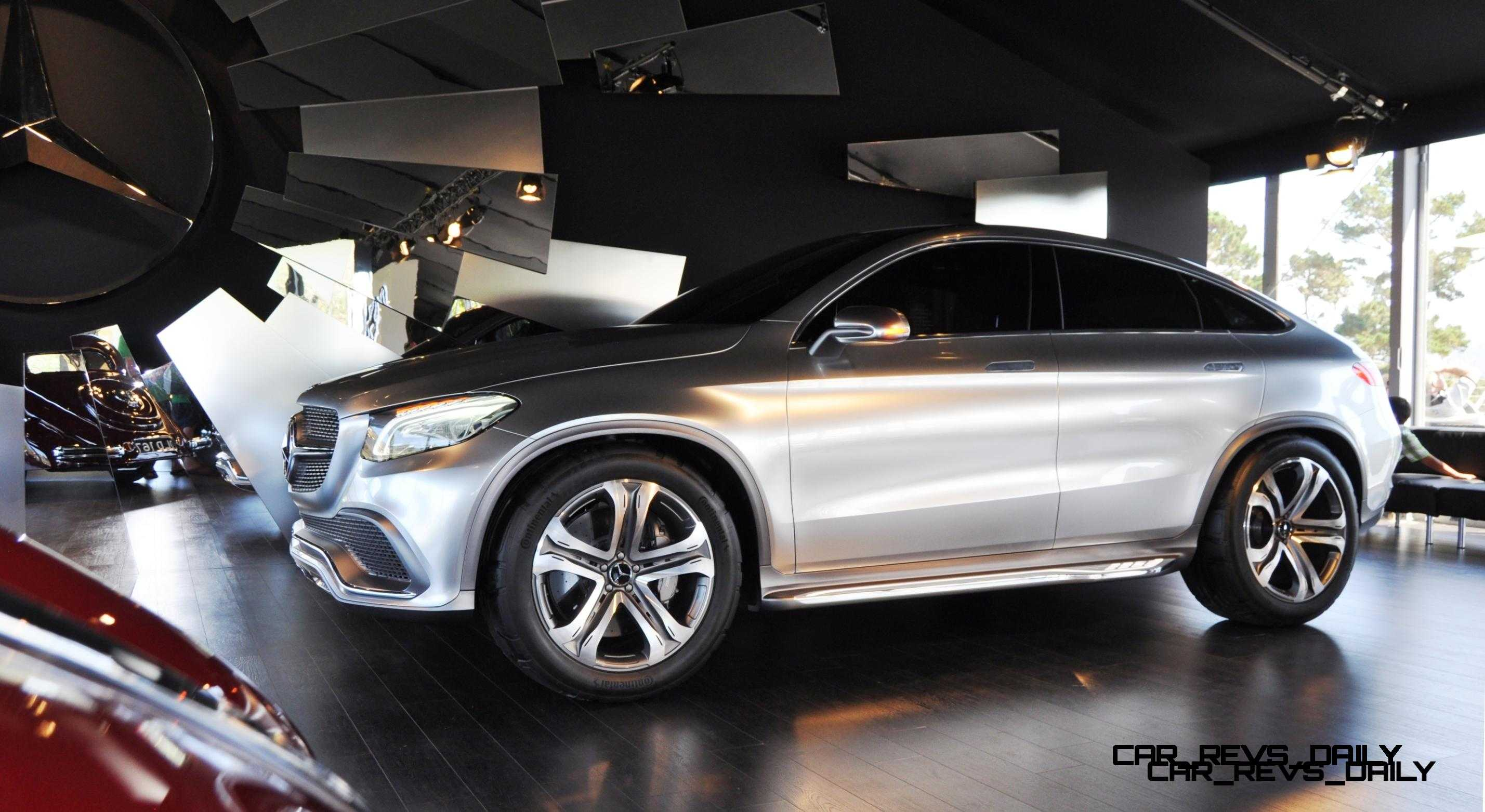 Sneak Peak 2016 GLE550 Coupe and C400 Coupe