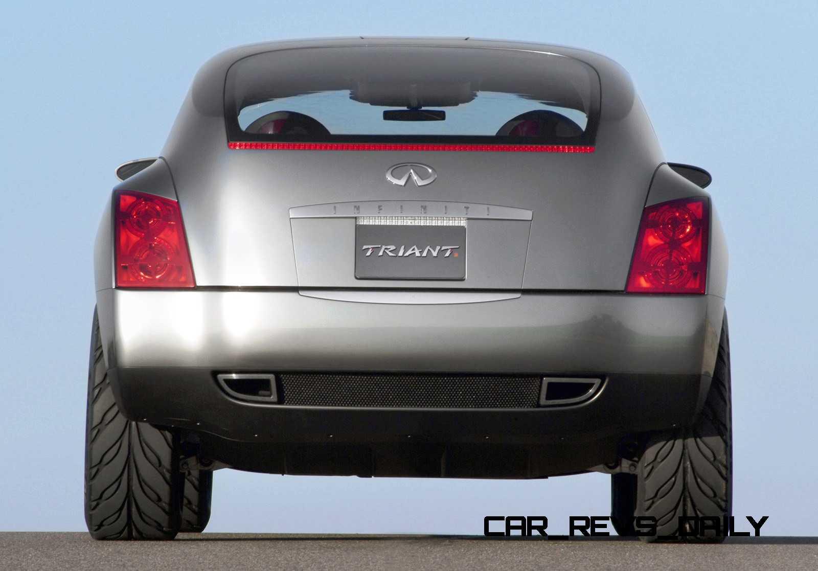 Design evolution series 2003 infiniti triant concept concept flashback 2003 infiniti triant 12 vanachro Images
