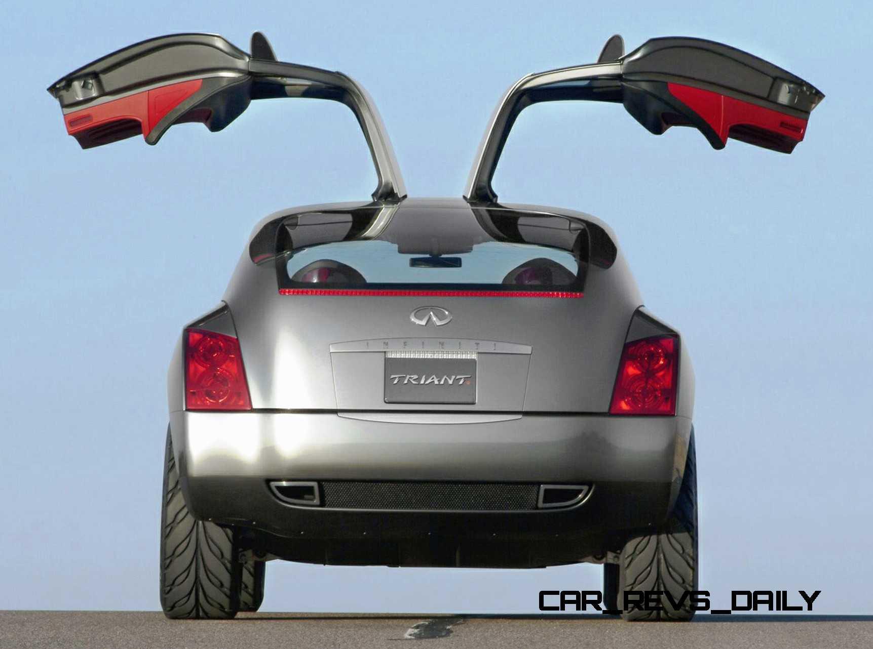 Design evolution series 2003 infiniti triant concept concept flashback 2003 infiniti triant 14 vanachro Images