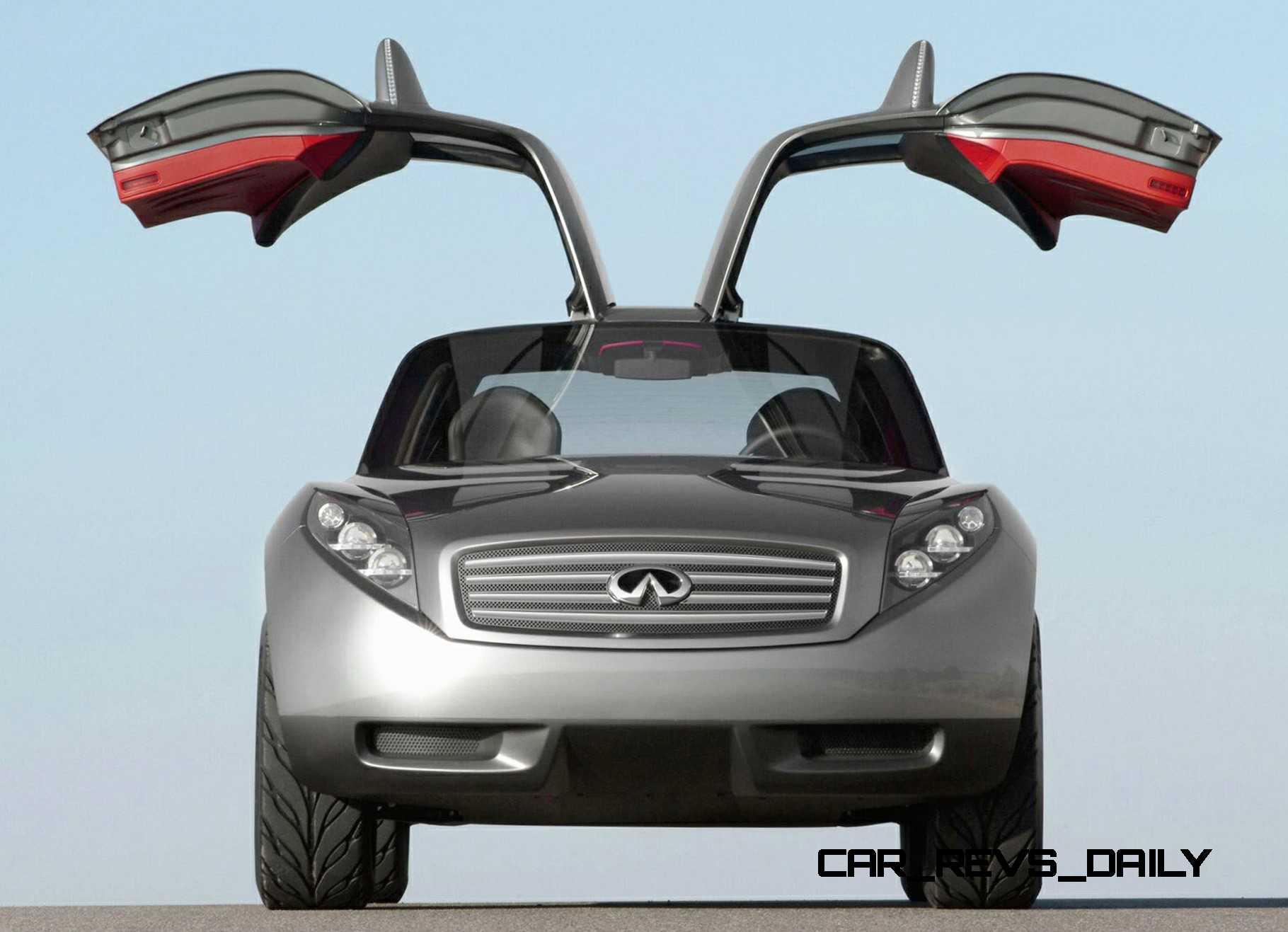 Design evolution series 2003 infiniti triant concept concept flashback 2003 infiniti triant 16 vanachro Images