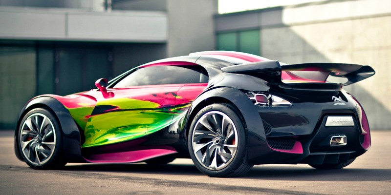 Concept Flashback - 2010 Citroen Survolt 28