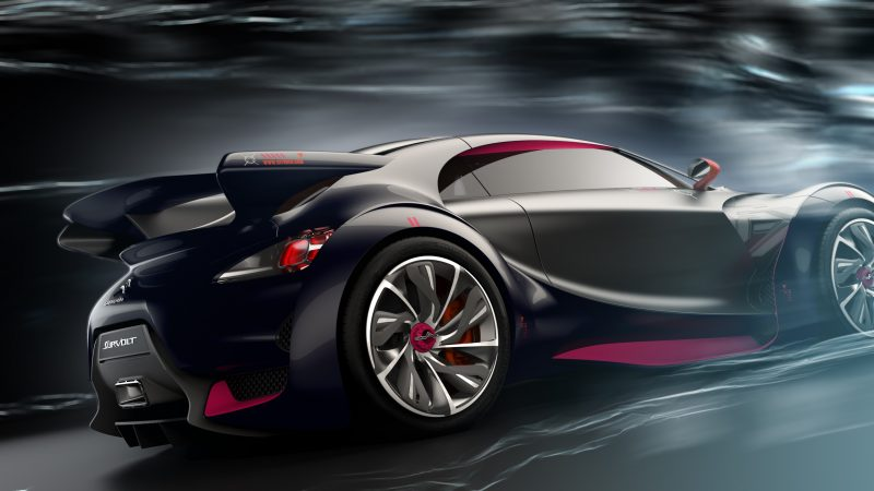 Concept Flashback - 2010 Citroen Survolt 39