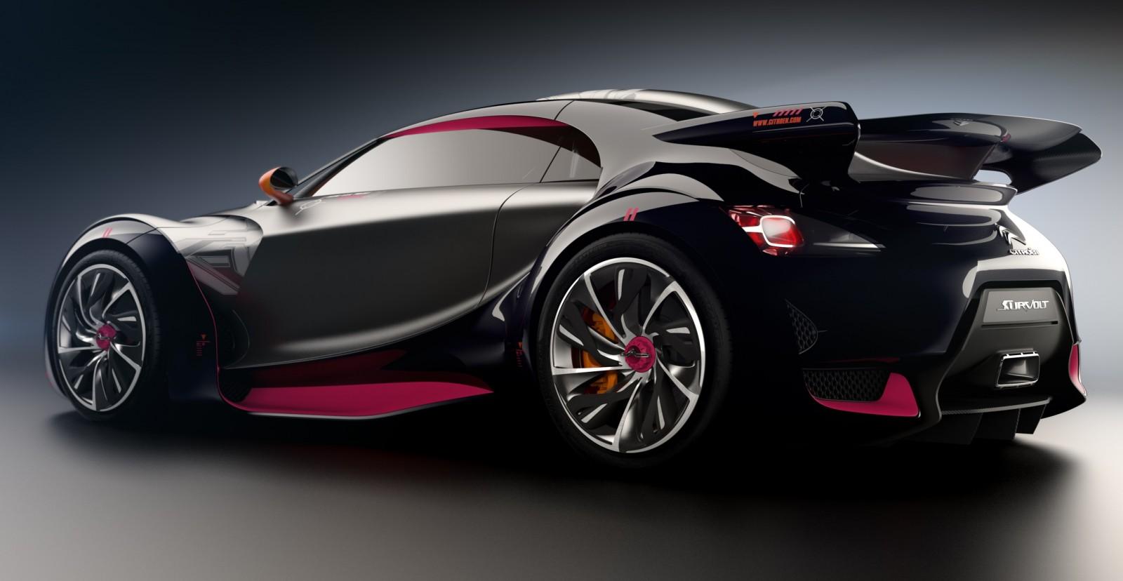 Concept Flashback - 2010 Citroen Survolt 49