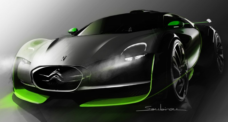 Concept Flashback - 2010 Citroen Survolt 57