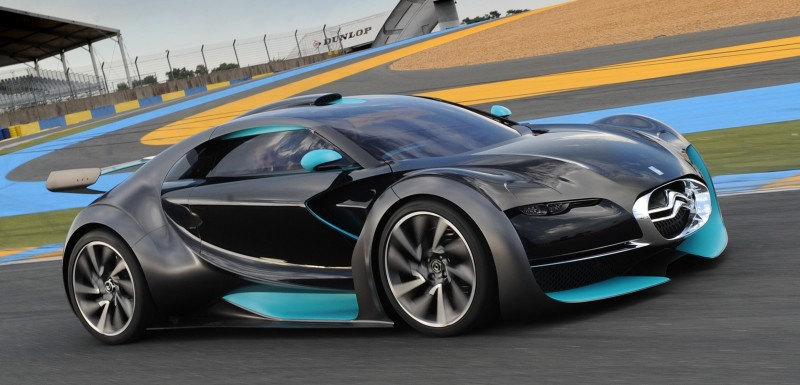 Concept Flashback - 2010 Citroen Survolt 64