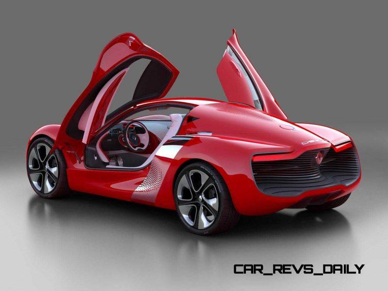 Concept Flashback - 2010 Renault DeZir 9